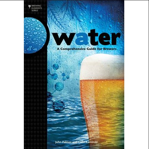 LIVRO WATER, A COMPREHENSIVE GUIDE FOR BREWERS