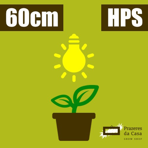 Kit Grow Cultivo HPS 60cm