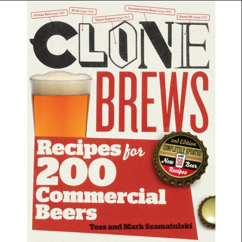 LIVRO CLONE BREWS: RECEIPES FOR 200 COMMERCIAL BEERS